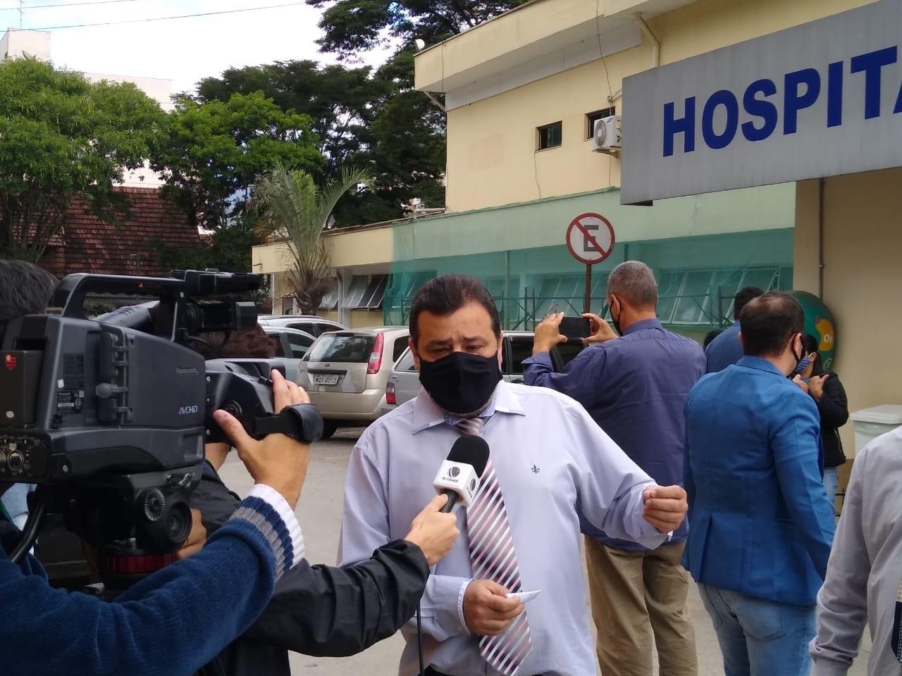 O presidente da Câmara, Wellington Moreira, garantiu que o Legislativo vai acatar o pedido do prefeito para concessão de gratificações aos profissionais de saúde (Foto: Divulgação)