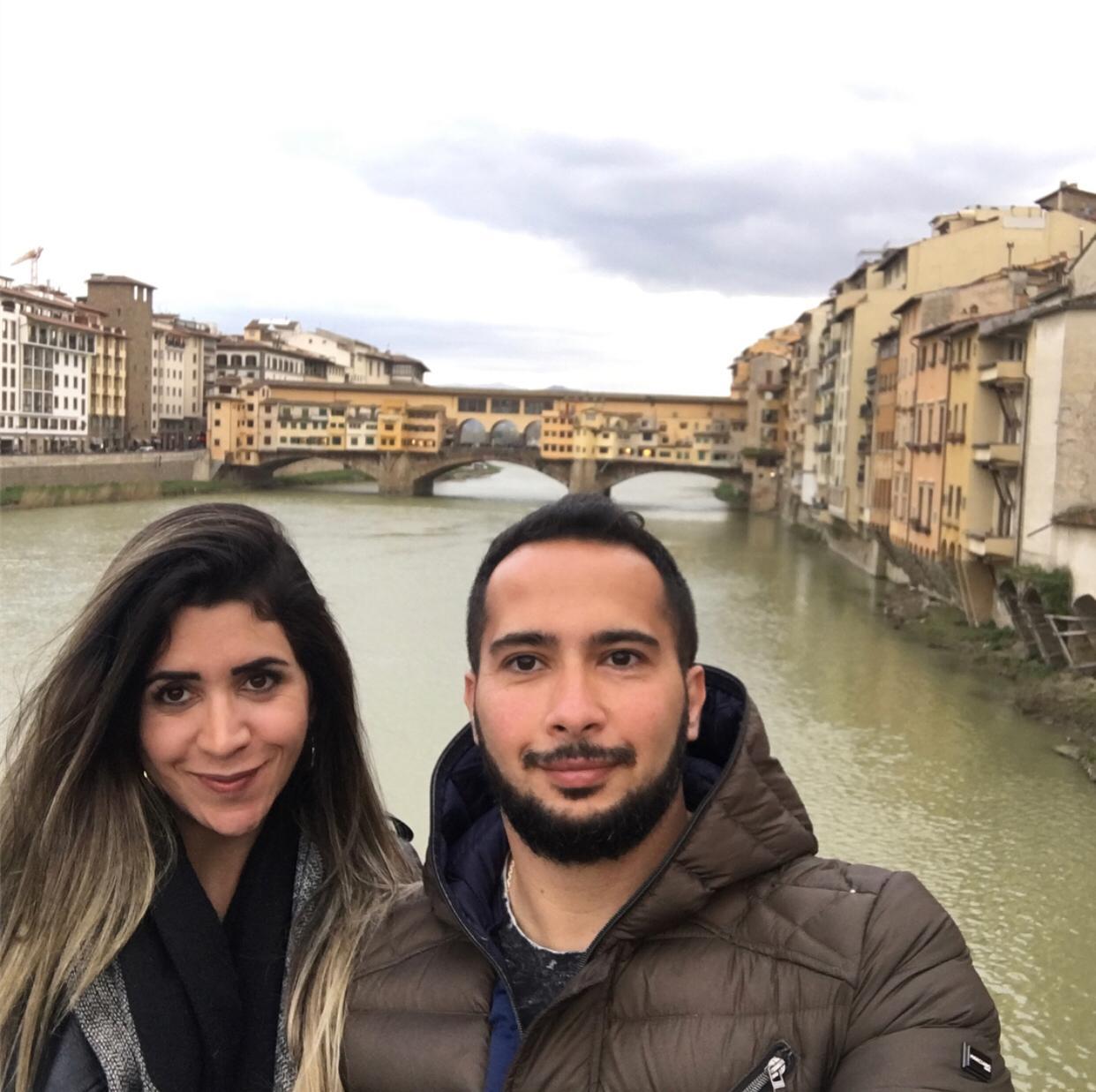 Nahaty e Ricardo em viagem à Europa: crime chocante (Reprodução da web)