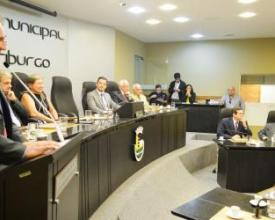 Sessão solene na Câmara Municipal de Nova Friburgo