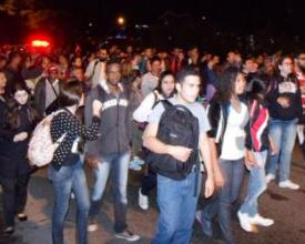 Protesto pelo ônibus intermunicipais, Nova Friburgo