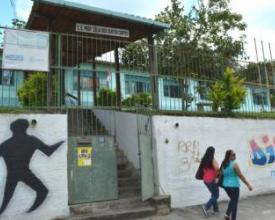 Colégio Estadual Zélia Côrtes, na Vila Amélia (Foto: Lúcio Cesar Pereira/Arquivo A VOZ DA SERRA)