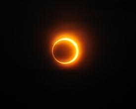 Eclipse solar anular, janeiro de 2010 (Fotos: Divulgação)