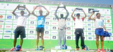 ESPORTES - Atleta do Carmo sobe ao pódio  na Maratona Internacional do Rio