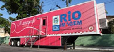 Teresópolis recebe mamógrafo móvel